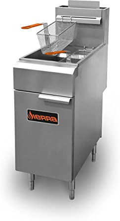 MVP Group SRF-35NG - Freidora a gas, color gris: Amazon.es: Grandes electrodomésticos