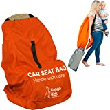 Car Seat Bag - Make Travel Easier. Protect Your Child's CarSeat from Germs and Damage. XL,Ultra Durable, Easy to Carry Padded Backpack