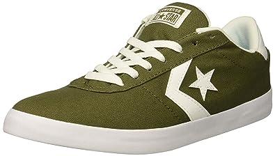 Converse Men's Point Star Canvas Low Top Sneaker, Medium