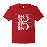 Alto Clef Musician T-Shirts and Gifts (Vintage White)