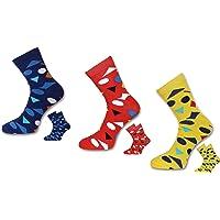 VaCalvers Men's Polka Print Ankle Length Socks - Pack of 3 - Yellow socks for men cotton | socks combo for men | ankle socks men | ankle socks combo for men | loafers socks men | Cotton Ankle Socks | loafers socks men combo |