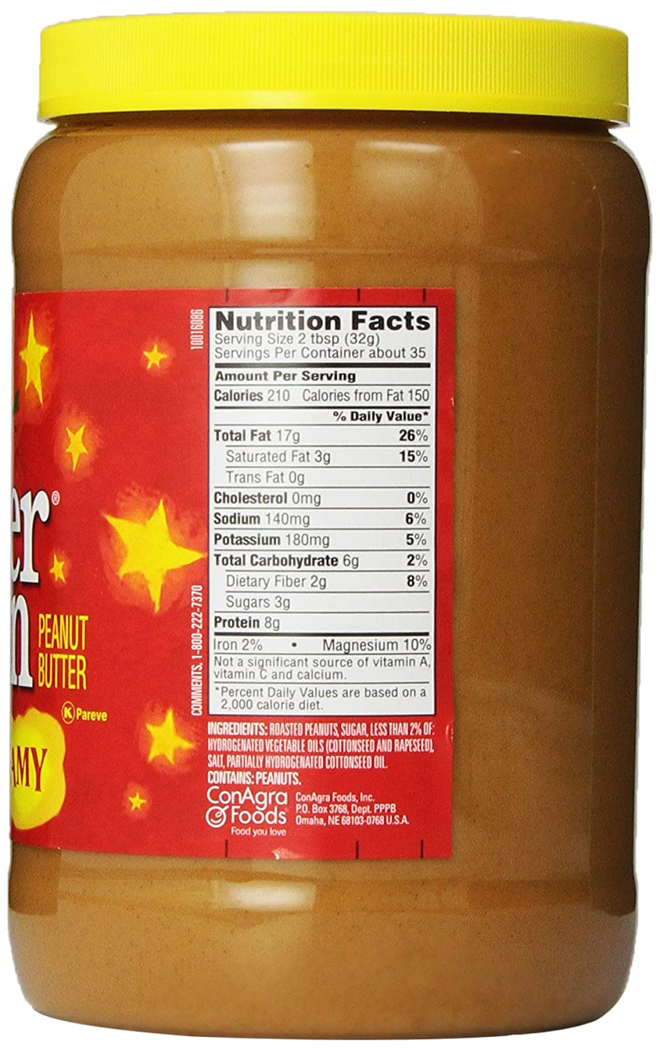 recipe: peter pan peanut butter recall 2016 [34]