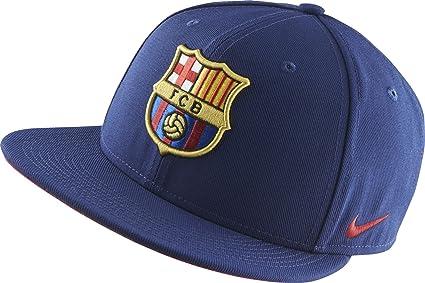 Nike Mens FCB Barcelona Core Team Cap Hat Loyal Blue Storm Red ... 0f885abc8e2