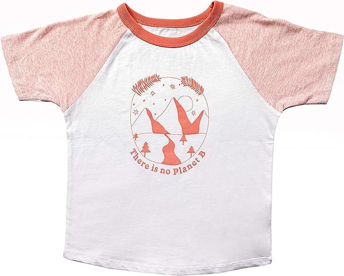 WASHAKIE Camiseta Baseball Rosa (7/8 años): Amazon.es ...