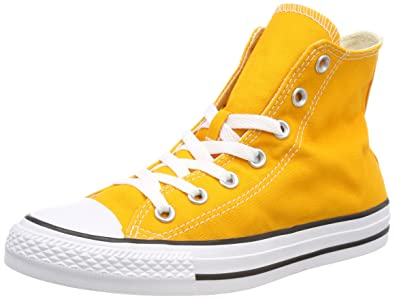 d3a38e069f8 Converse Chuck Taylor All Star Hi Womens Trainers 7.5 UK Orange