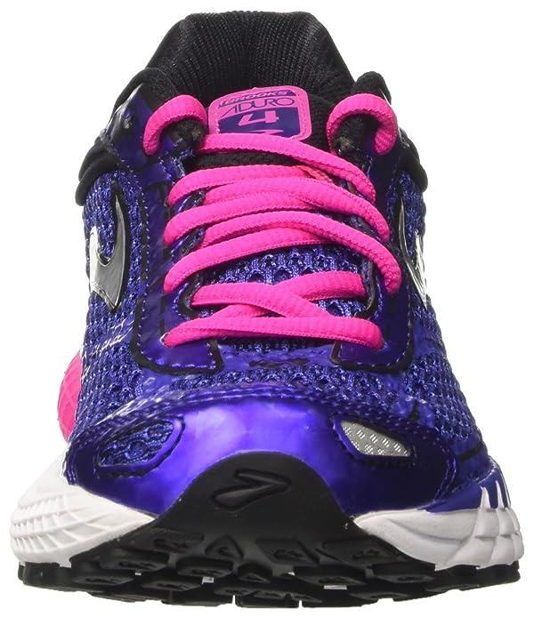 Brooks Aduro 4, Chaussures de Course Femme, Gris (Peacoat/Teaberry/Boysenberry), 39 EU