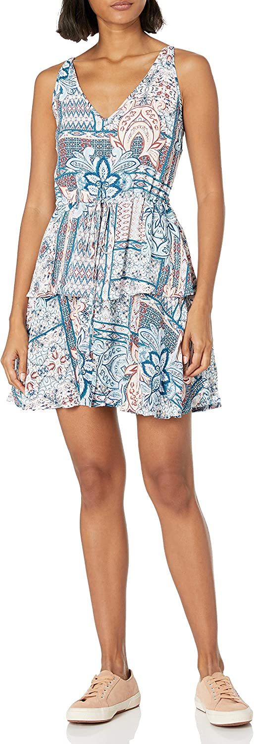 MINKPINK Womens Marrakech Boho Printed Dress