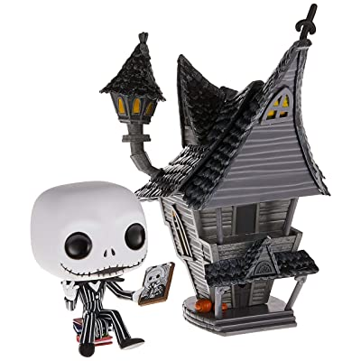 Funko Pop! Town: Nightmare Before Christmas - Jack Skellington with Jack's House: Toys & Games
