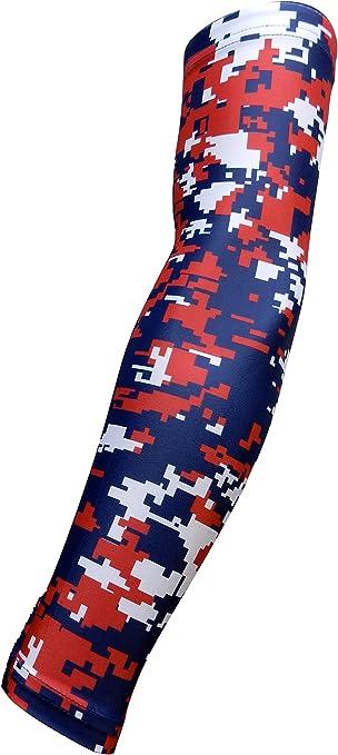 S VERTICS.Sleeves Unterarm Kompressions Stulpen Black//red I 24-28 cm Unterarmumfang
