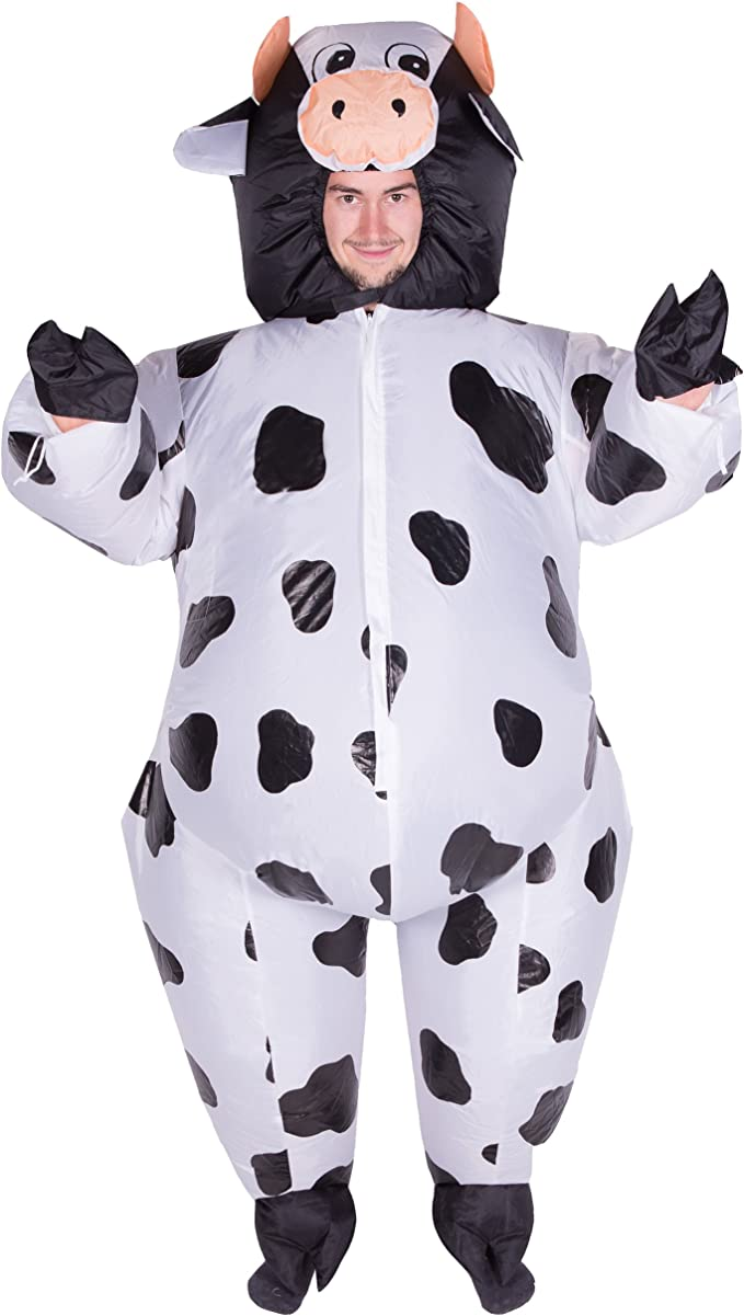 Amazon.com: Bodysocks – Vaca inflable Blow Up fatsuit Granja ...