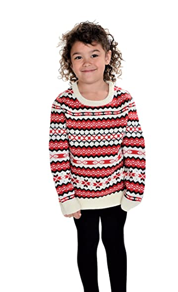 Amazon.com: RWB Children's Holiday Fair Isle Nordic Christmas ...