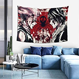 CNAOWHG Hunter X Hunter Anime Tapestry Wall Decoration Decor Tapestry Background Home Decoration Room Decor Gift for Bedroom Living Room Wall Art Hanging 60 x 40 Inch