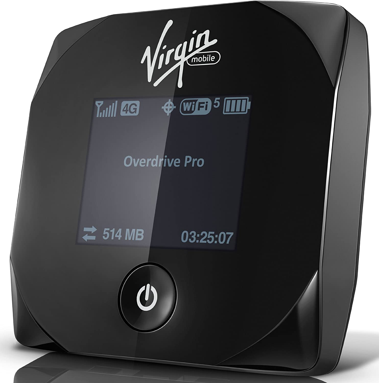 Car Travel Charger Virgin Mobile Overdrive Pro 3G//4G Mobile Hotspot *US SELLER