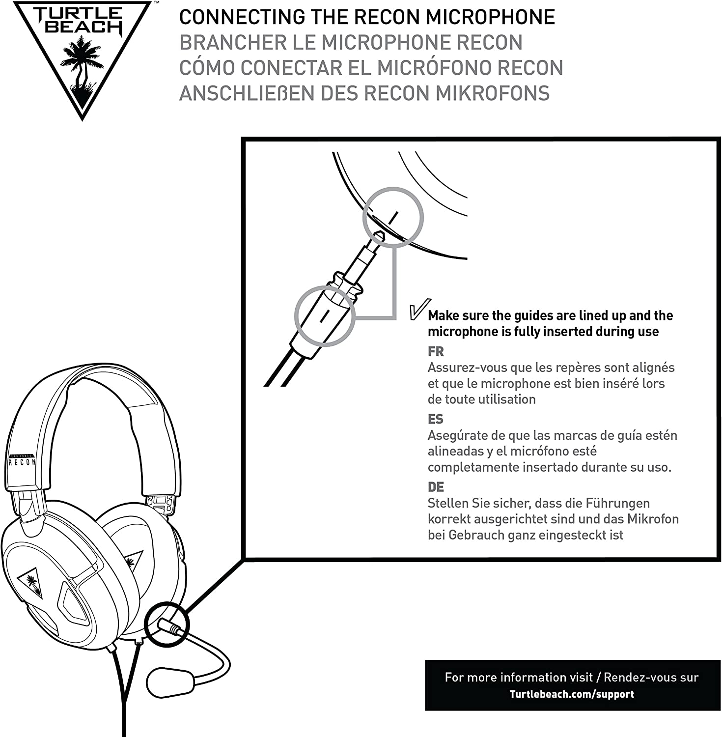 Turtle Beach Ear Force Recon 50x Stereo Gaming Headset Usb Wiring Diagram Xbox One Compatible W Controller 35mm Jack And Ps4