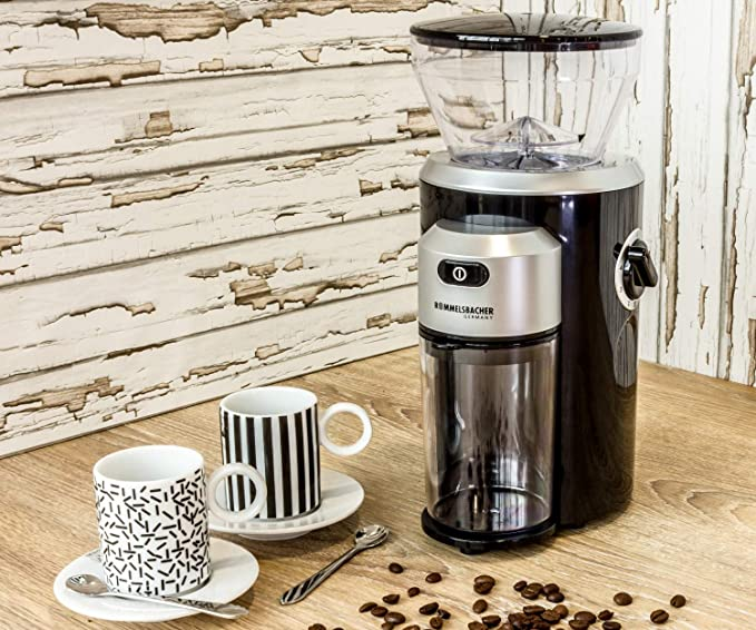 Rommelsbacher EKM 300 150W Negro, Plata - Molinillo de café (150 W ...