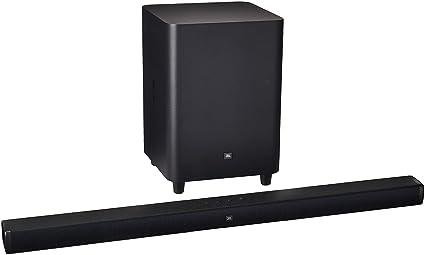 "JBL Bar 3 1 - Channel 4K Ultra HD Soundbar with 10"" Wireless Suboofer"