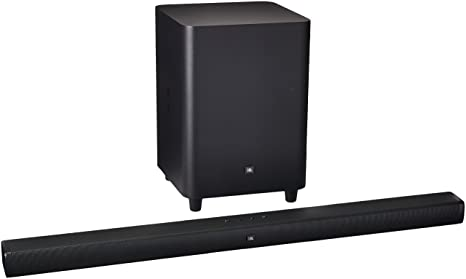 "JBL Bar 3 1 - Channel 4K Ultra HD Soundbar with 10"" Wireless Suboofer"