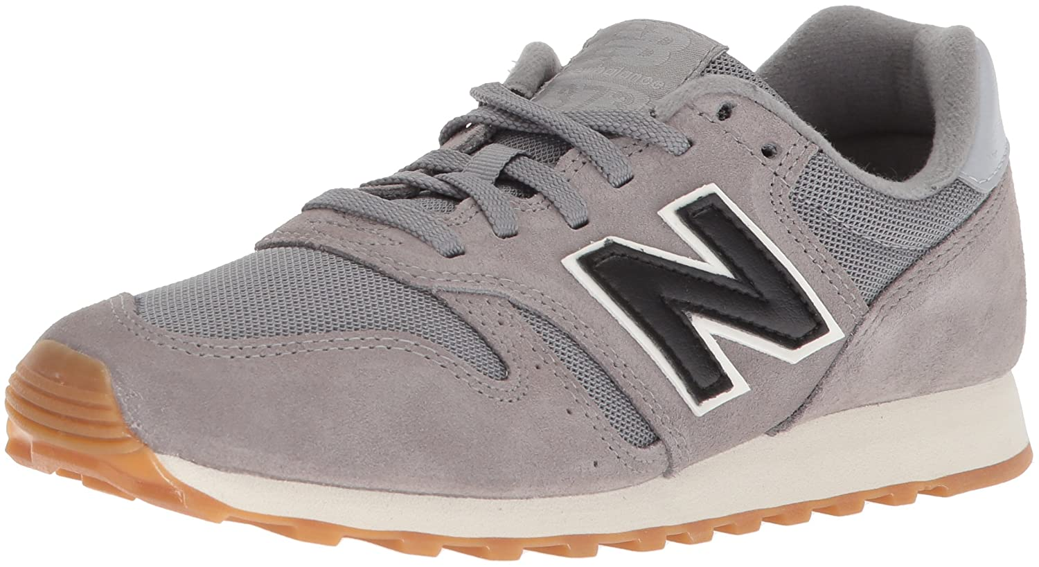New Balance Men's 373V1 Sneaker B072LWCWR5 4 2E US|Grey/Black