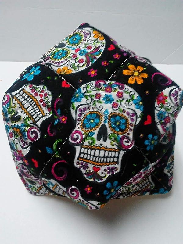 Sugar Skull bowl cozies set of 4