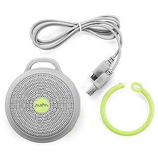 marpac hushh white noise sound machine portable amazon. Black Bedroom Furniture Sets. Home Design Ideas