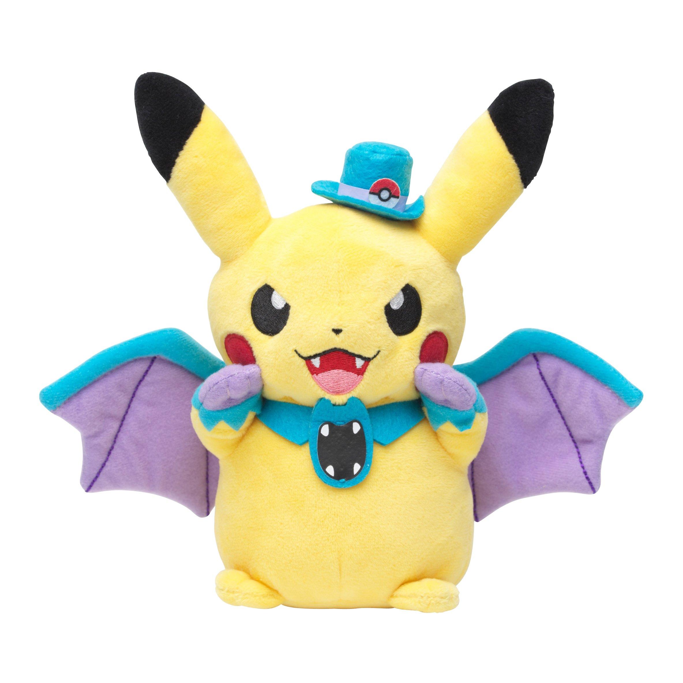 Pokemon Center Original Pikachu Plush Doll (Golbat Ver.) Halloween Parade 2015