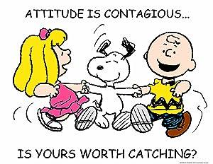 Eureka Peanuts Attitude Poster