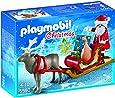Playmobil Navidad - Trineo de Papá Noel con reno, playset (5590)