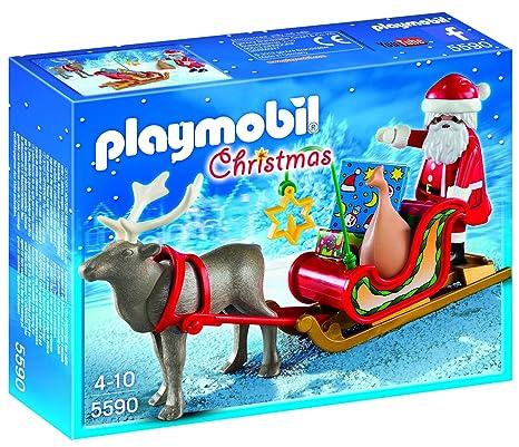 Beautiful Amazon.com: PLAYMOBIL Santa's Sleigh with Reindeer: Toys & Games NK08