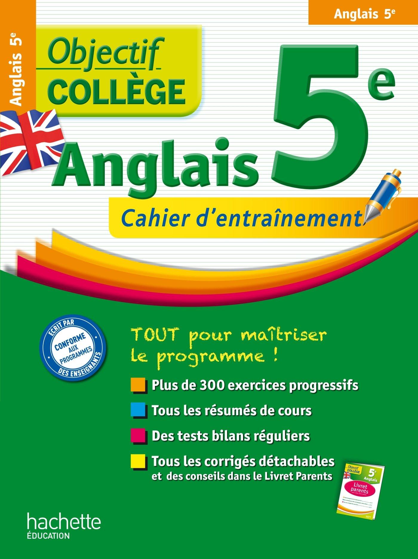 Amazon Fr Objectif College Anglais 5eme Krystel Gerber