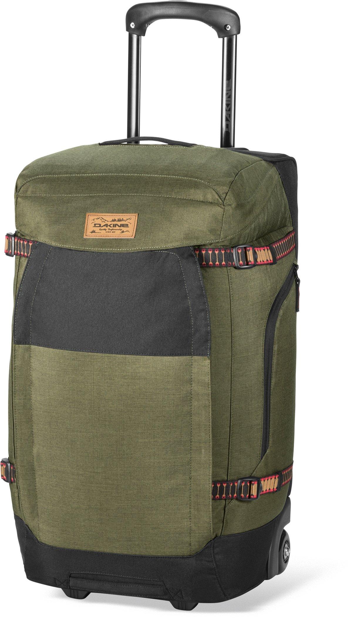 Dakine Sherpa Roller Duffel Bag, One Size/60 L, Fern