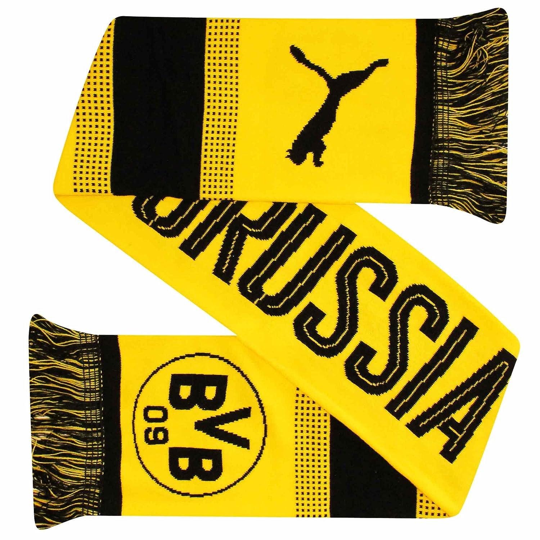 Crest Football Fans Scarf Official BVB Borussia Dortmund Bundesliga
