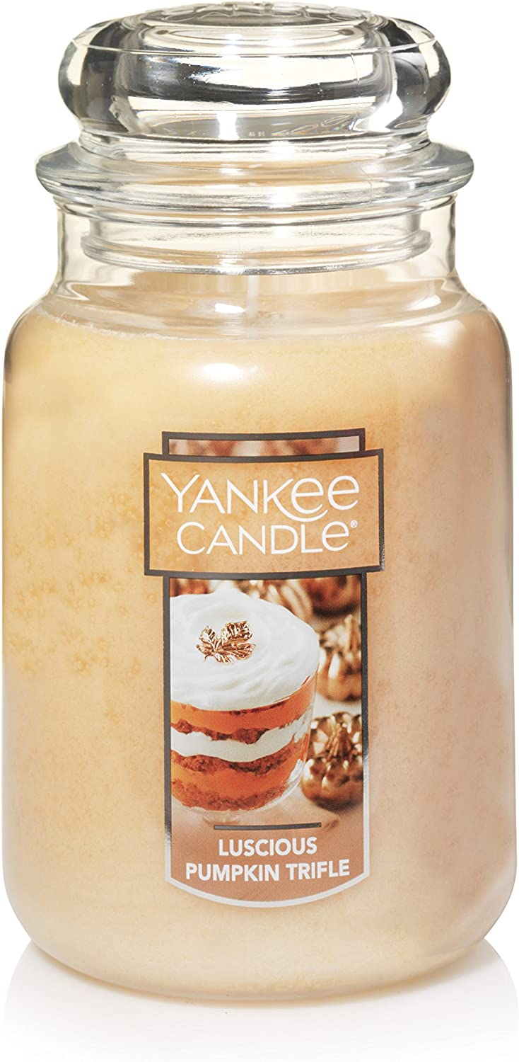 Luscious Pumpkin Trifle Yankee Candle Large Jar Scented Candle