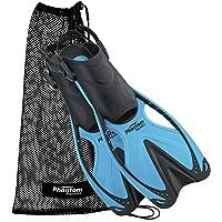 Phantom Aquatics Velocidad Sport Aletas de Snorkel de Ajustable