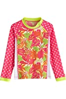 Coolibar UPF 50+ Girls' Zippy Rash Guard - Sun Protective