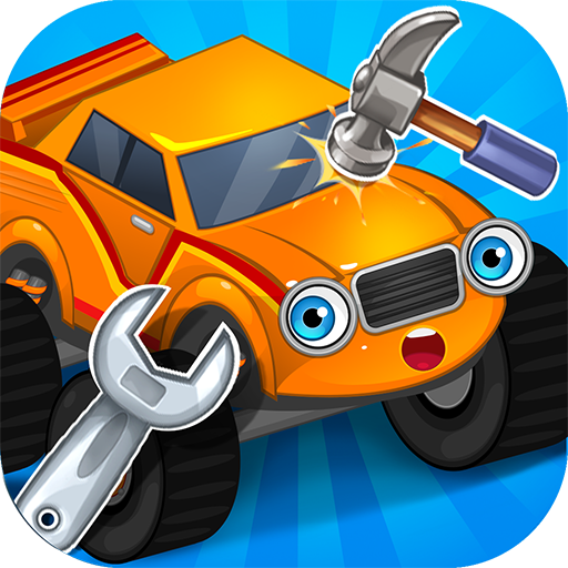 (Repair machines - monster trucks)