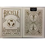 Rare Bicycle GOLD TRACE Deck Playing Cards