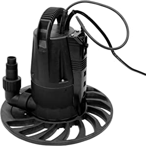 HydraPump Smart Flex - Submersible Water Pump with adjustable height settings for automatic operation. The Smart Water Pump That's Flexible