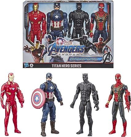 Marvel Avengers:Endgame Titan Hero Series Action Figure 4 Pack.