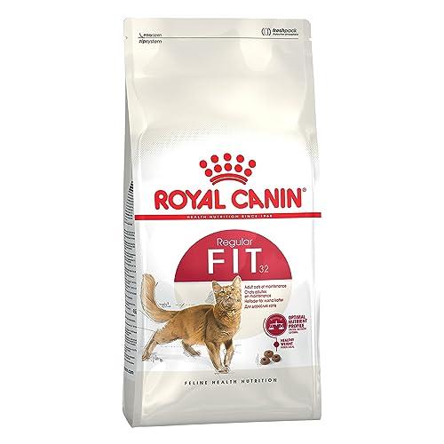 Royal Canin/Fit 32 Sac de 10 Kg croquettes pour chat à l'acivité modéré