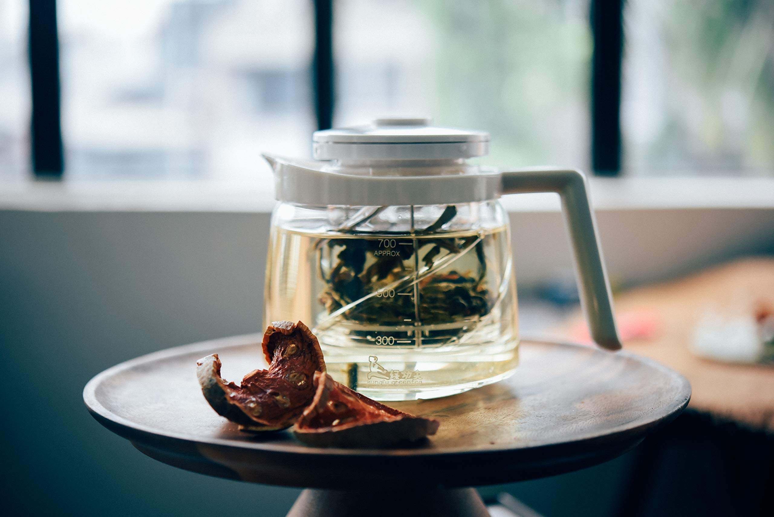 Glass Tea Pot and Infuser Set - Infusers Holds 4-5 Cups Loose Leaf Herb Tea Filter Container - Kettles Teapots Tea Strainer Steeper