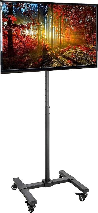 VIVO - Soporte de pie para Pantalla de televisor, Altura Ajustable ...