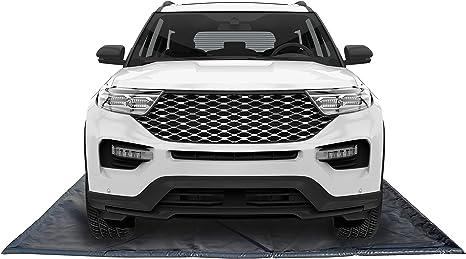 GarageMatExpress Black 79 x 18 Midsize//Small SUV Containment Mat Mud Ice Snow Rain