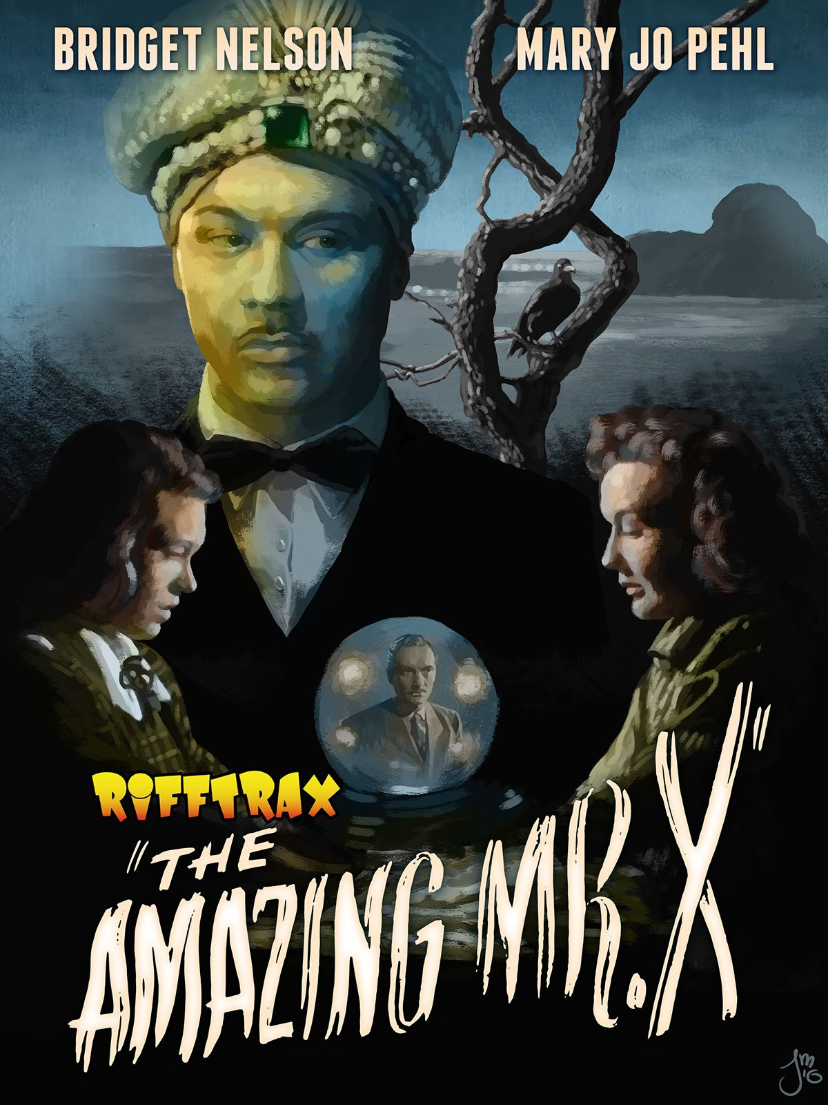 RiffTrax The Amazing Mr X