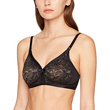 5b53de9611db9 Playtex Women's Ideal Beauty Lace, Non-Wired Bra: Amazon.co.uk: Clothing