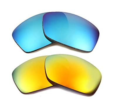 afd72a40190 FUEL CELL Replacement Lenses Polarized Blue   Yellow by SEEK fits OAKLEY
