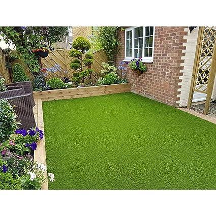 Eurotex® Grass Premium Quality Soft Artificial Grass for Balcony, Walls, Decoration, Well Packed, Fake Grass Carpet Mats, Artificial Lawn Grass Size (6.5 X 3 FEET)