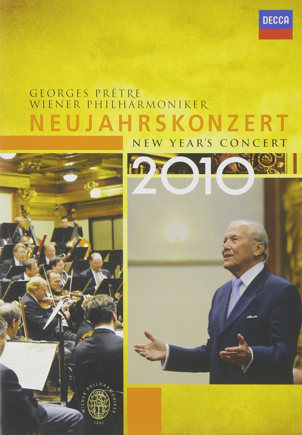 DVD : Georges Pretre - Vienna Philharmonic Orchestra - New Year's Concert 2010 (NTSC Format)