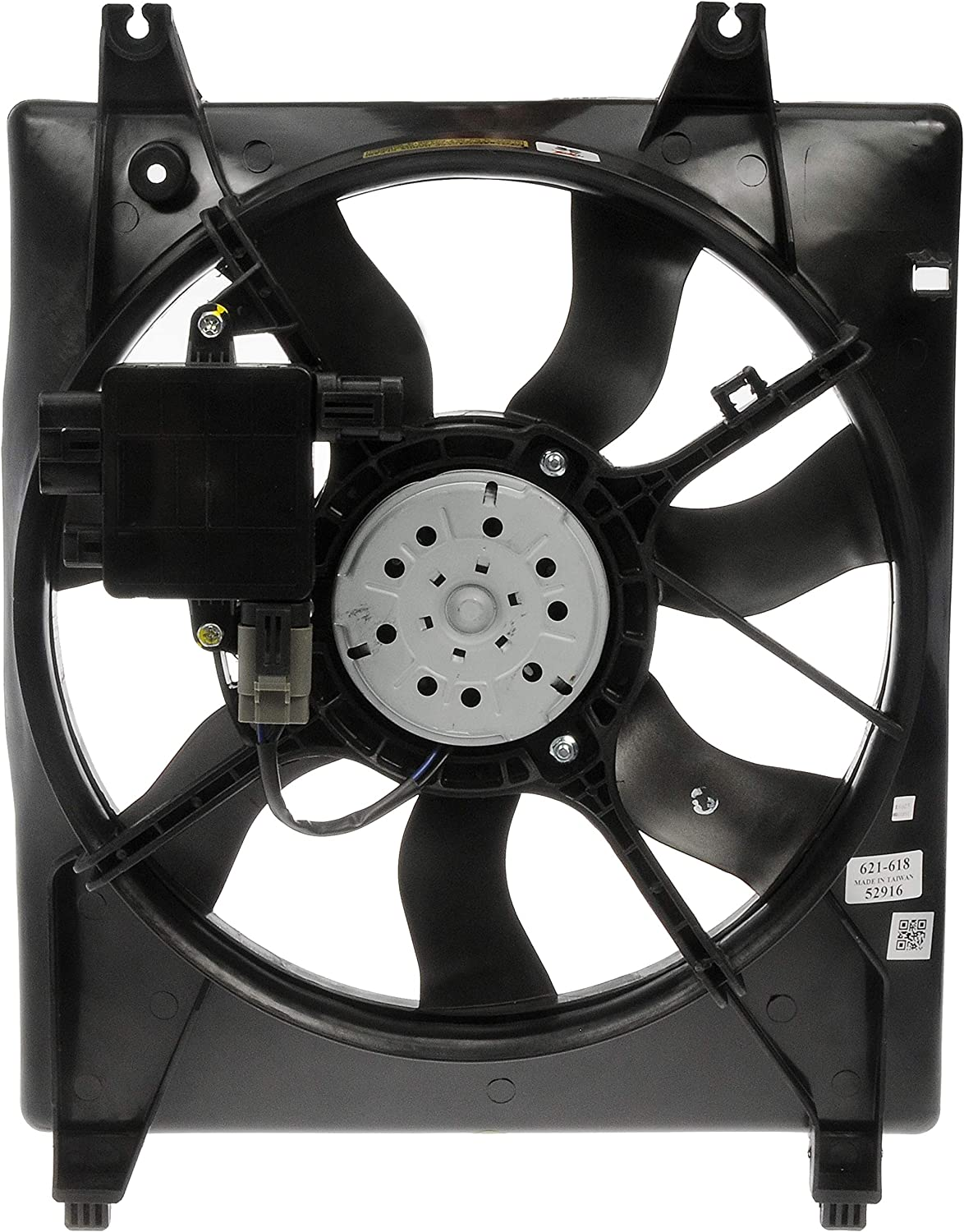 Dorman 621-618 Radiator Fan Assembly with Controller for Select Hyundai / Kia Models
