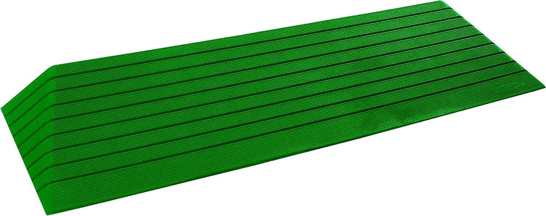 シンエイテクノ ダイヤスロープ(段差解消スロープ)屋外用 76cm幅(DSO76) - 76-55 B01GHC1O4K 高さ5.5cm  高さ5.5cm