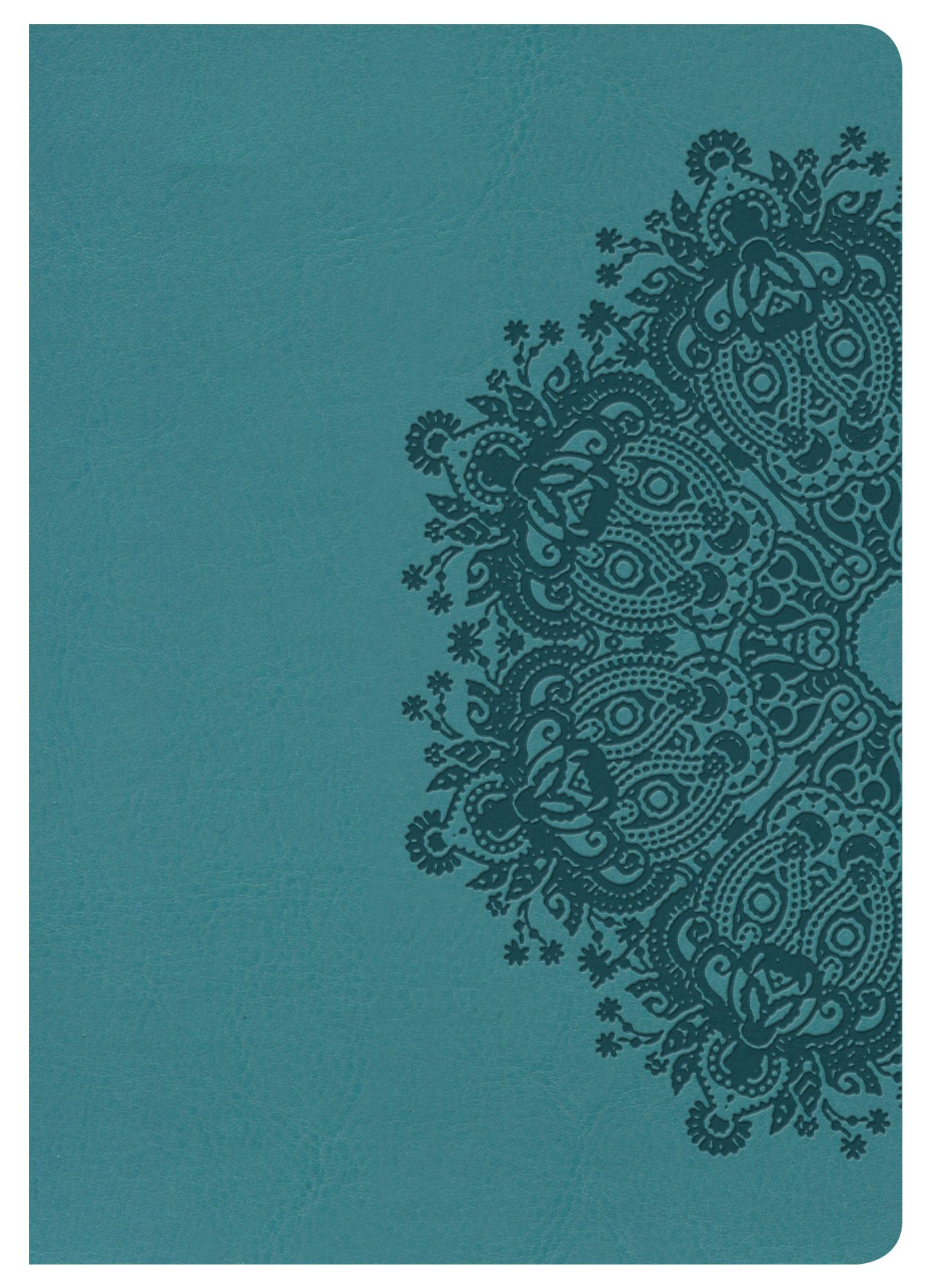 Read Online NKJV Large Print Compact Reference Bible, Teal LeatherTouch ebook